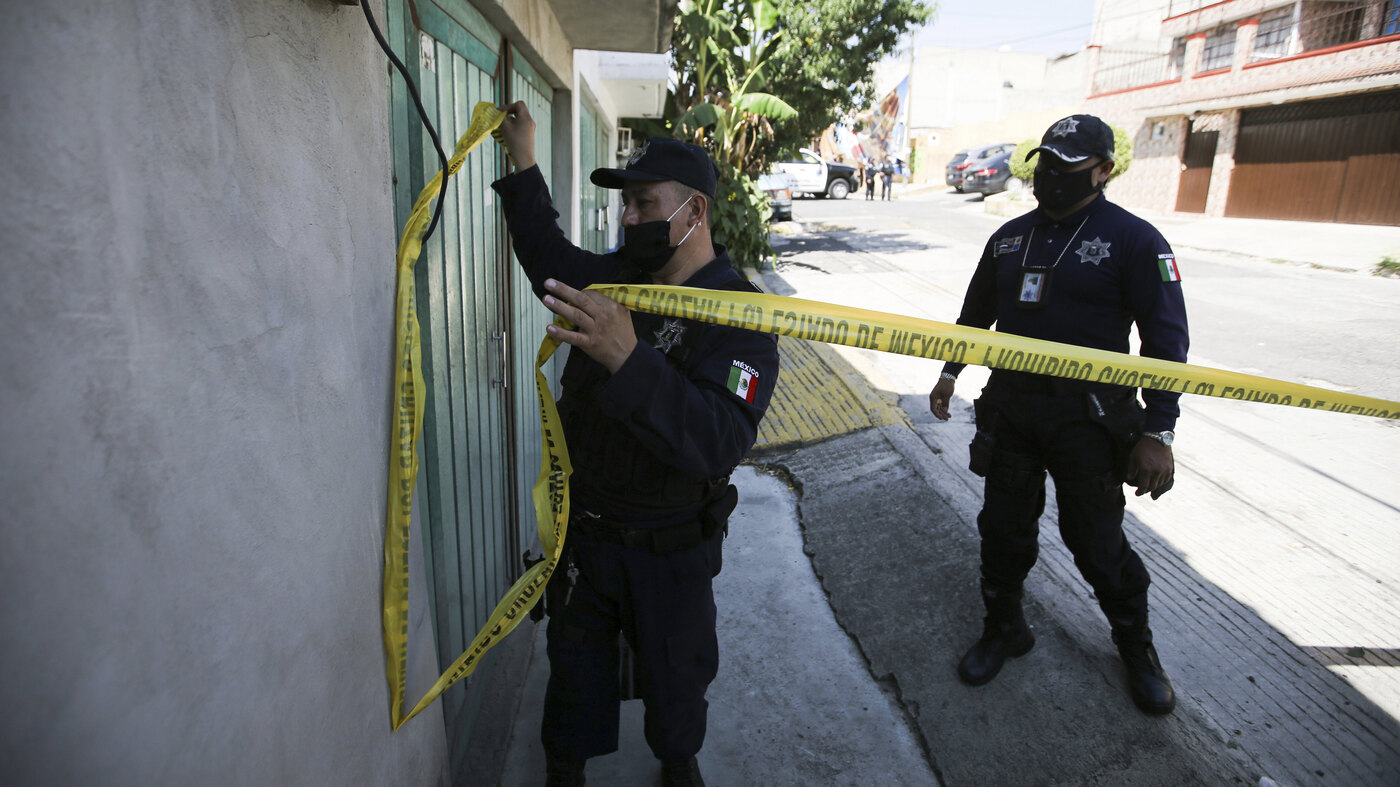 Mexican Officials Find Remains of 17 Victims Under Alleged Serial Killer's Home - NPR