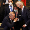 Biden Says Russia's Putin Is A 'Worthy Adversary' Whether Or Not He Trusts Him