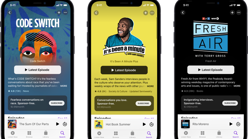 Support Your Favorite NPR Podcasts With Apple Podcasts Subscriptions