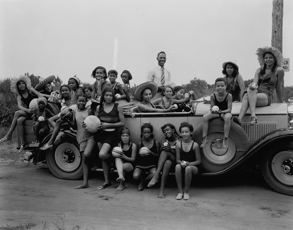 YWCA camp for girls. Highland Beach, Maryland, 1930. These photos are from the Scurlock Studio Collection at the Smithsonian National Museum of American History. Read more about the photos at the end of this story.