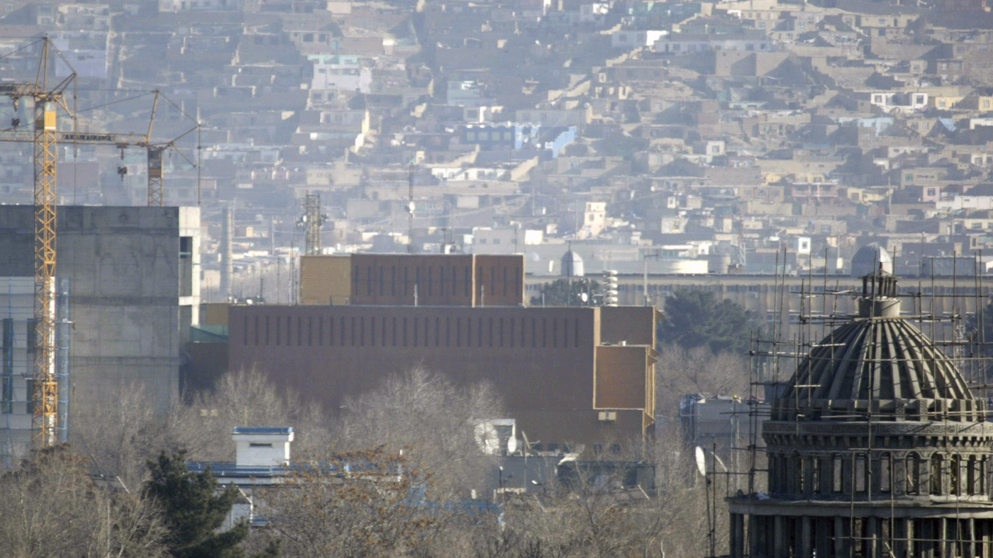 A COVID outbreak at the US embassy in Kabul has sickened 114 people: Coronavirus updates: NPR