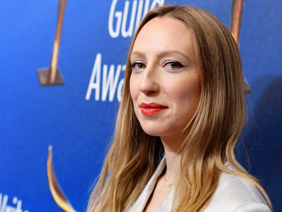 Anna Konkle attends the 2020 Writers Guild Awards West Coast ceremony on Feb. 1, 2020, in Beverly Hills, Calif.