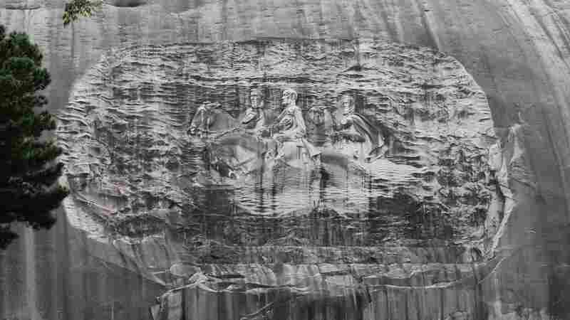 Confederate Imagery On Stone Mountain Is Changing, But Not Fast Enough For Some