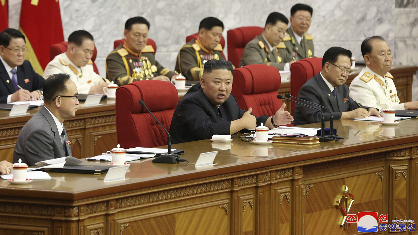 North Korea's Kim vows to be ready for confrontation with US: NPR