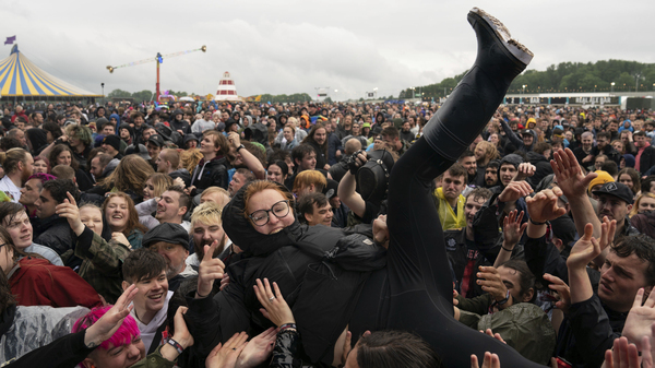 Metal Fans Mosh At The U.K.'s First Full Live Music Festival Since The Pandemic Hit