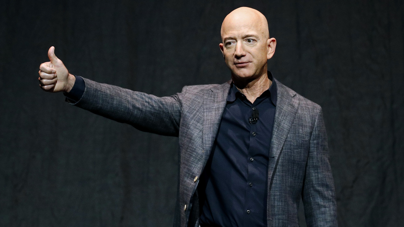 Tens Of Thousands Sign Petition To Stop Jeff Bezos From Returning To Earth – NPR