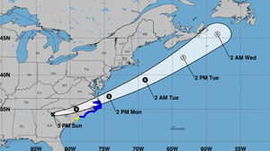 Claudette Downgraded To Tropical Depression, Will Strengthen As It Nears East Coast