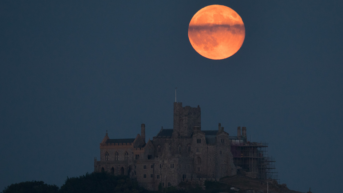A Strawberry Moon Will Rise This Thursday — No, It Won't Be Red Or Pink - NPR