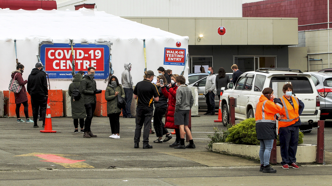 New Zealand Is On Edge After An Australian Traveler Tests Positive : NPR