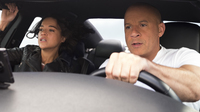 Letty (Michelle Rodriguez) and Dom (Vin Diesel) are still together in <em>F9</em>, 20 years after the franchise began.