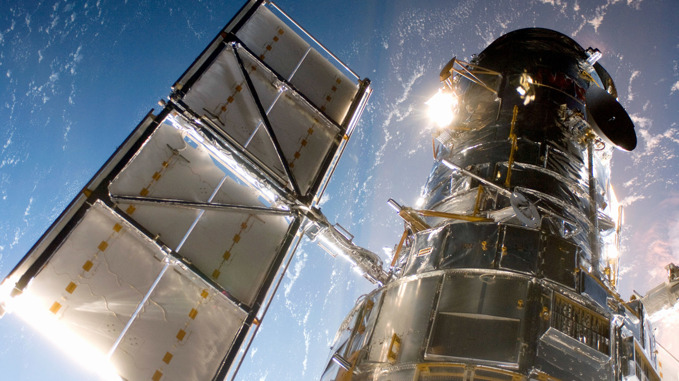 NASA Probes Computer Outage On Hubble Space Telescope - NPR