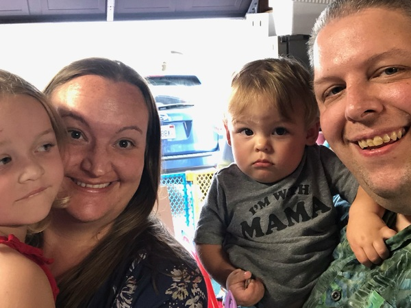 After a long career in restaurants, Jeremy Golembiewski is looking for a job with better hours so he can have more time with his wife, Cecelia, and their children Michaela, 5, and Alexander, 1.