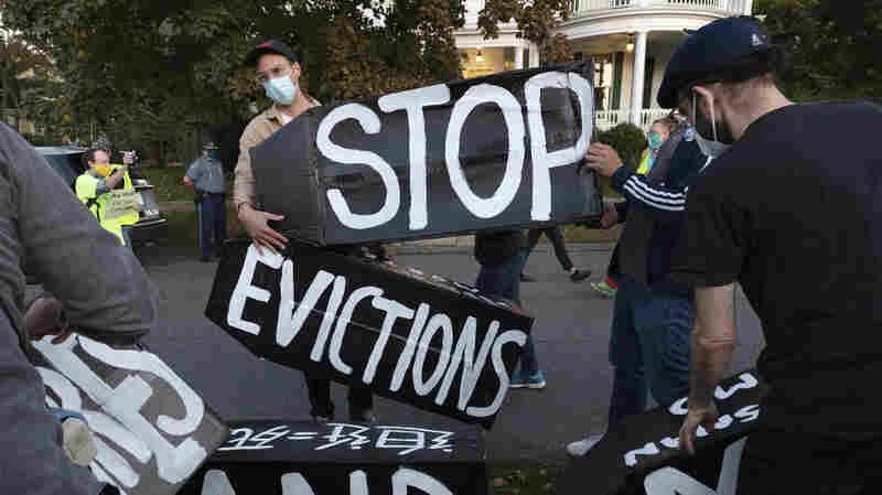 CDC Extends Eviction Moratorium For 30 Days