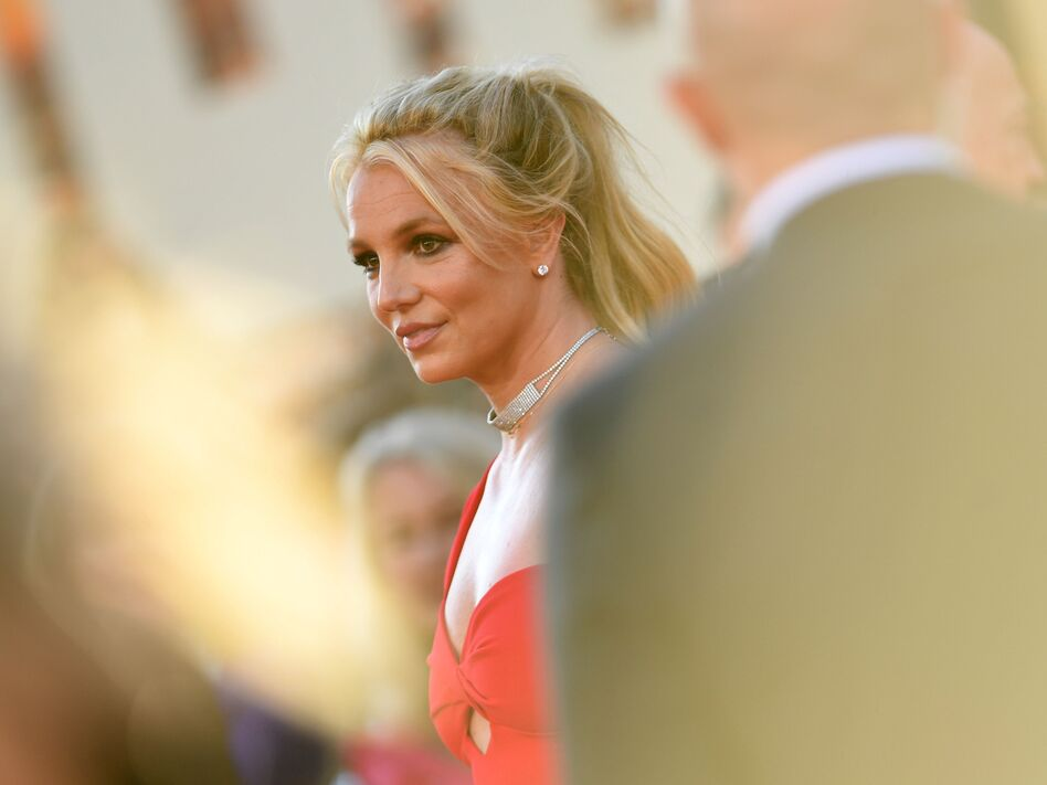 Britney Spears arrives at a Hollywood movie premiere in 2019. (Valerie Macon/AFP via Getty Images)