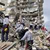Biden Offers Sympathy For Those Awaiting News Of Loved Ones In Building Collapse