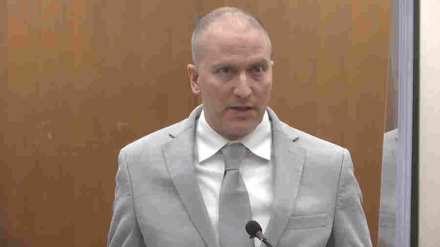 Derek Chauvin Is Sentenced To 22 1/2 Years Over George Floyd's Murder