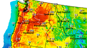 Record Heat Wave Set To Scorch Pacific Northwest To Southern California