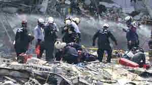 Officials Call For More Federal Help In Champlain Towers Search-And-Rescue Mission