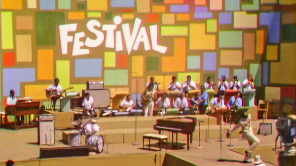 The Harlem Cultural Festival in 1969 in the documentary Summer of Soul.