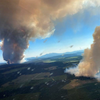 A deadly heat wave is triggering dozens of wildfires in western Canada