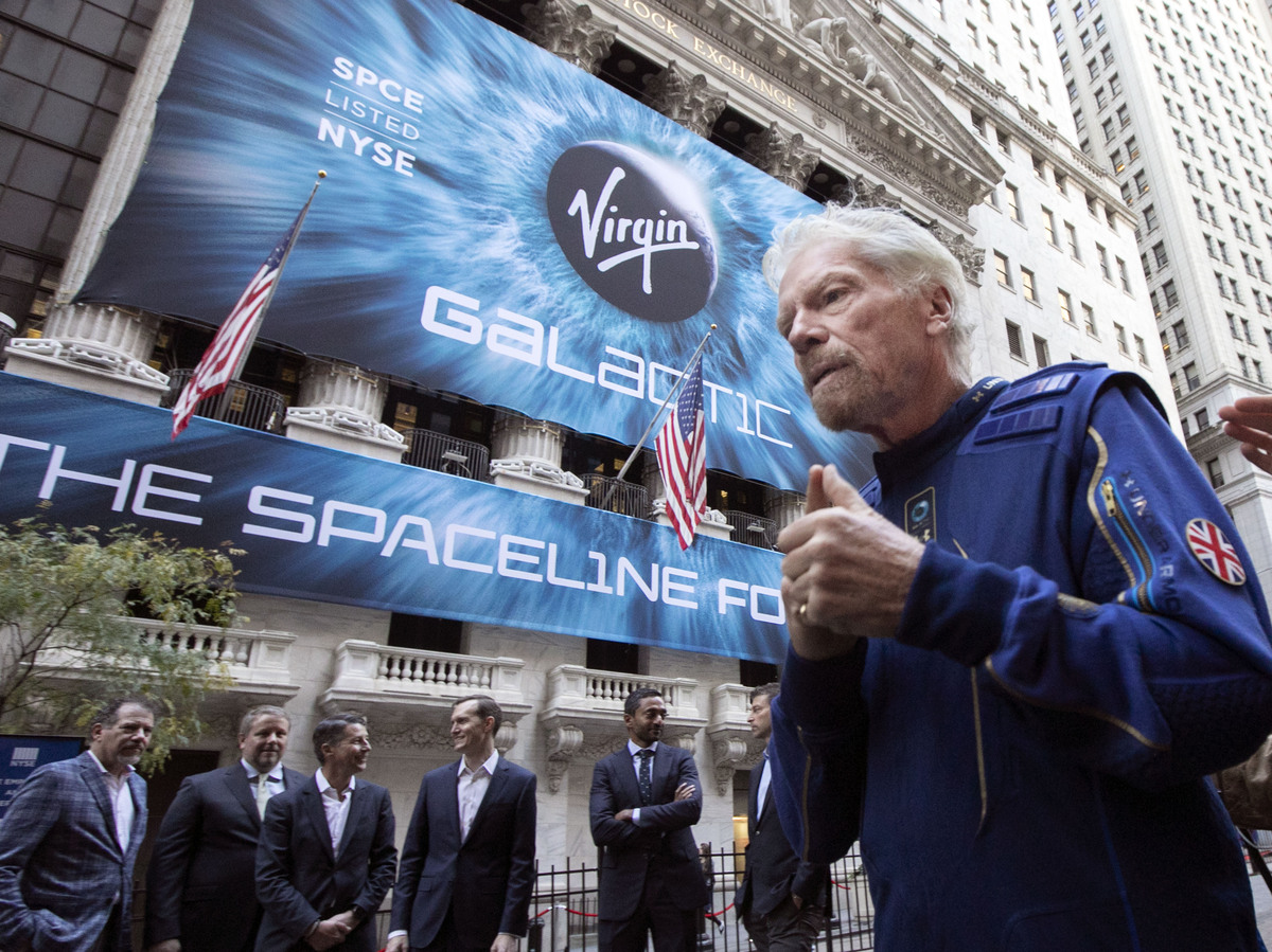 - ap21181629448957 55c1799c13804717a97d04f2a1ebe1ee9889932e s1200 - Richard Branson Will Beat Jeff Bezos To Outer Space : NPR