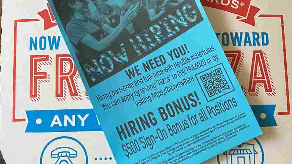 A $500 Sign-On Bonus To Deliver Pizzas? Here's What To Know About Hiring Incentives