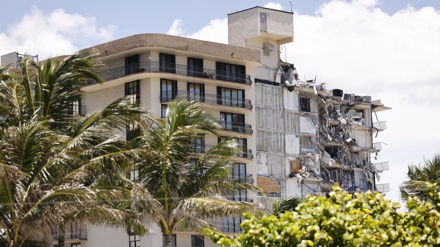 Tropical Storm Elsa Nears Florida As Crews Prepare To Demolish Remains Of Condo