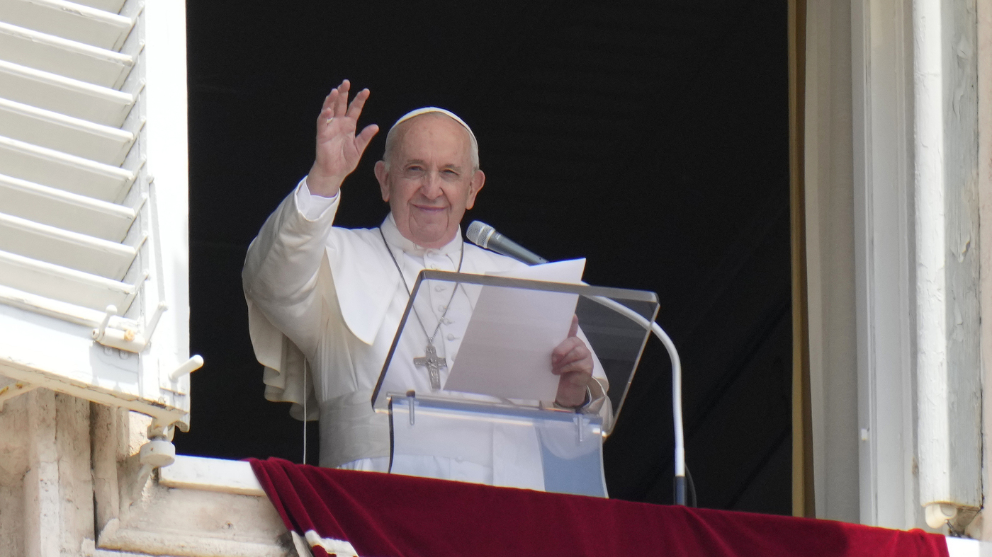 Pope Francis is in a Rome hospital for scheduled surgery on his large intestine: NPR