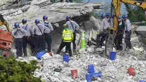 Four More Bodies Found As Search Accelerates After Demolition Of Surfside Condo