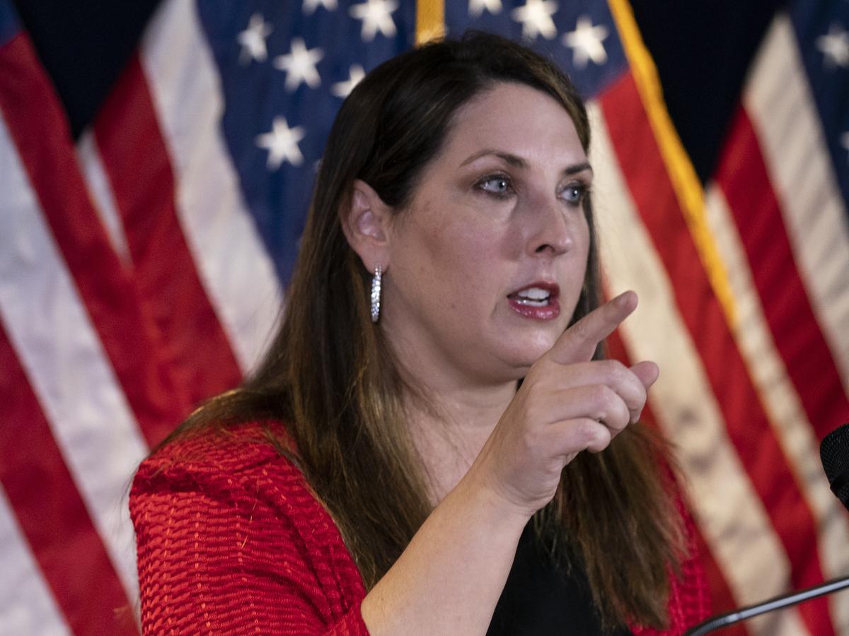 Рона Макдоннелл, председатель республиканского национального комитета