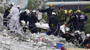 Firefighters Searching Condo Rubble Are Facing Physical And Emotional Tolls