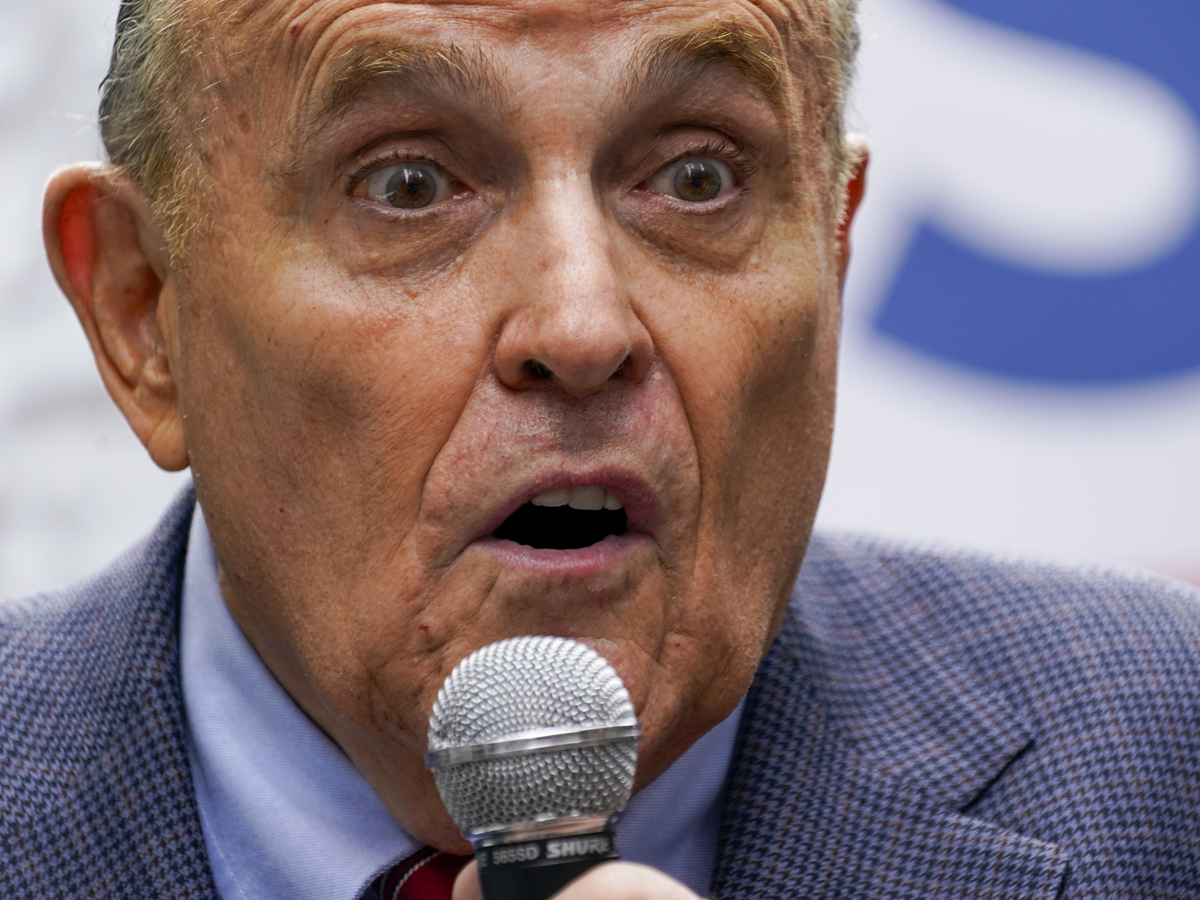 Appeals court suspended Rudy Giuliani's ability to practice law in Washington: NPR