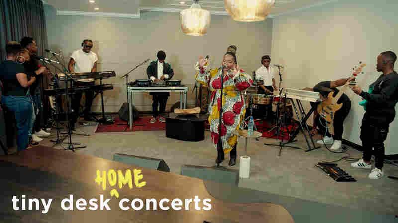 Black Motion: Tiny Desk (Home) Concert