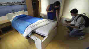 Even With Cardboard Beds And Recycled Medals, Olympics Take Flak Over The Environment