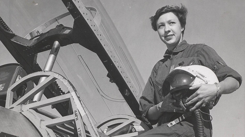 Wally Funk is one of the Mercury 13, a group of women who trained to be astronauts in the 1960s. (Wally Funk)