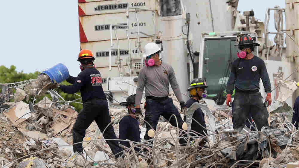 Surfside Officials: We Weren't Notified Of Severe Deterioration Before Condo Collapse