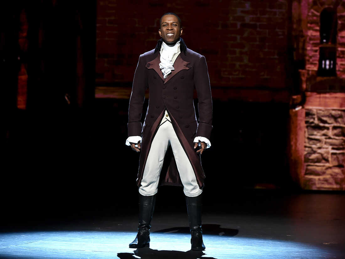 Leslie Odom Jr. performs during the 70th Annual Tony Awards at The Beacon Theatre on June 12, 2016 in New York City.