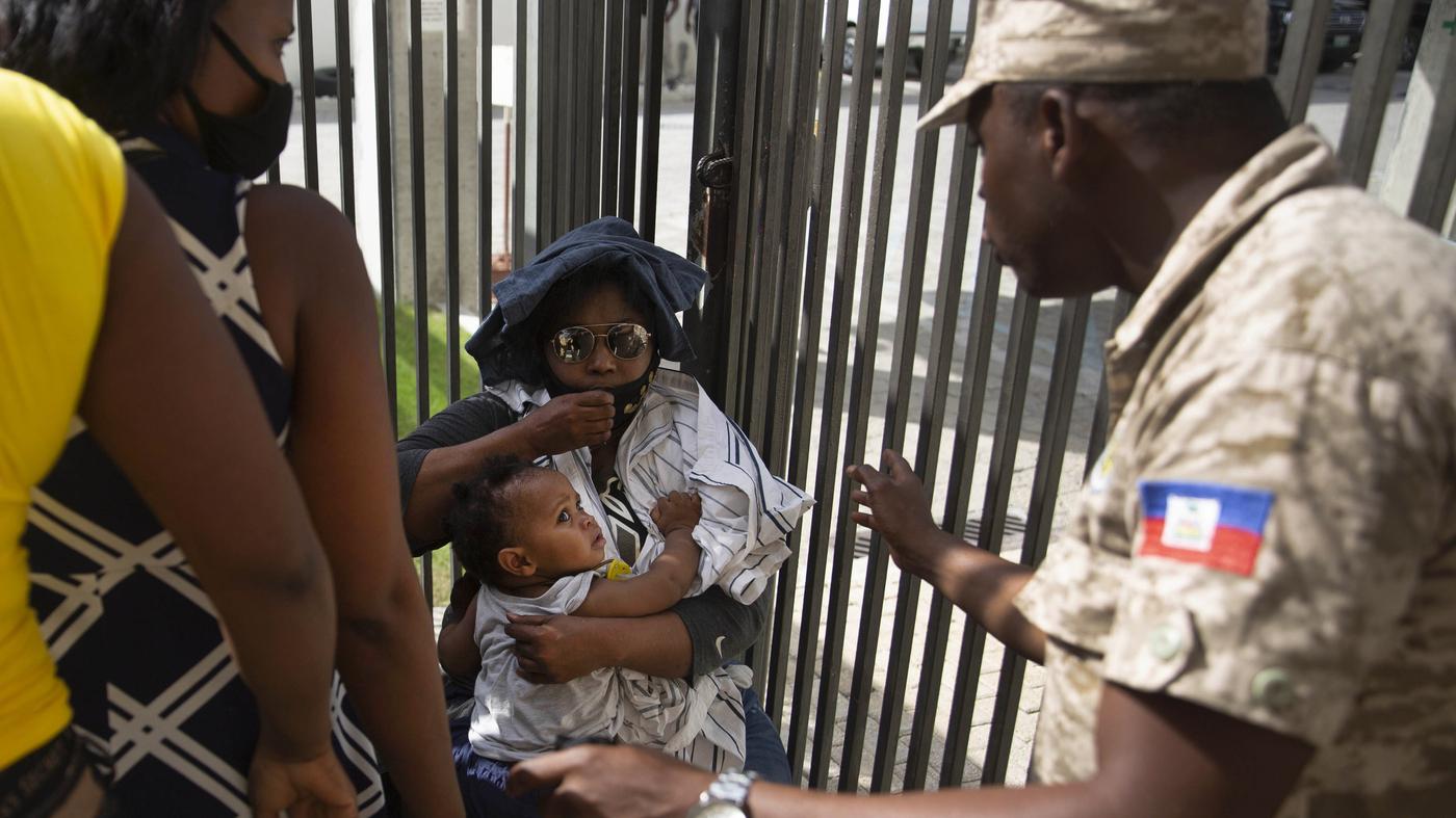Haiti's Interim Leader Requests US Troops – NPR