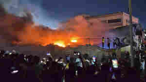 More Than 60 People Are Dead After A Hospital Fire In A Southern Iraqi City