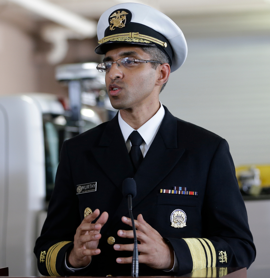 U.S. Surgeon General Dr. Vivek Murthy, who has helped the U.S. through other crises like the Zika outbreak, is now taking on health misinformation around COVID-19, which he says continues to jeopardize the country's efforts to beat back the virus. (John Raoux/AP)