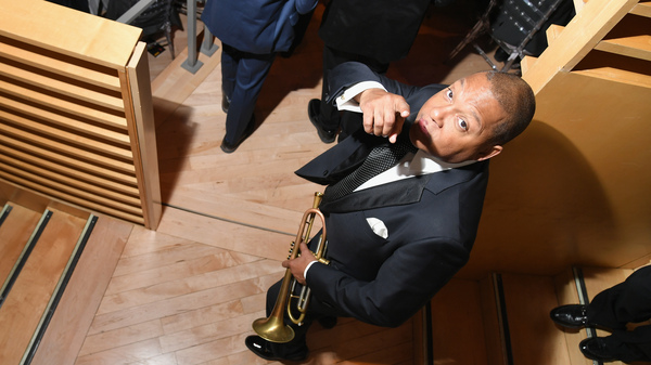 Wynton Marsalis, performing during Jazz At Lincoln Center's 30th Anniversary Gala on April 18, 2018 in New York.