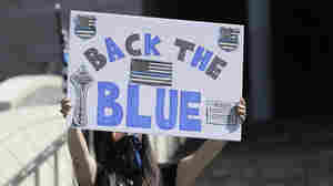 19-Year-Old Protester Stomped On A 'Back The Blue' Sign. She Faces Hate Crime Charges