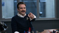 Ted Lasso (Jason Sudeikis) is back in a second season of the Emmy-nominated series, in Sudeikis' Golden-Globe-winning role.