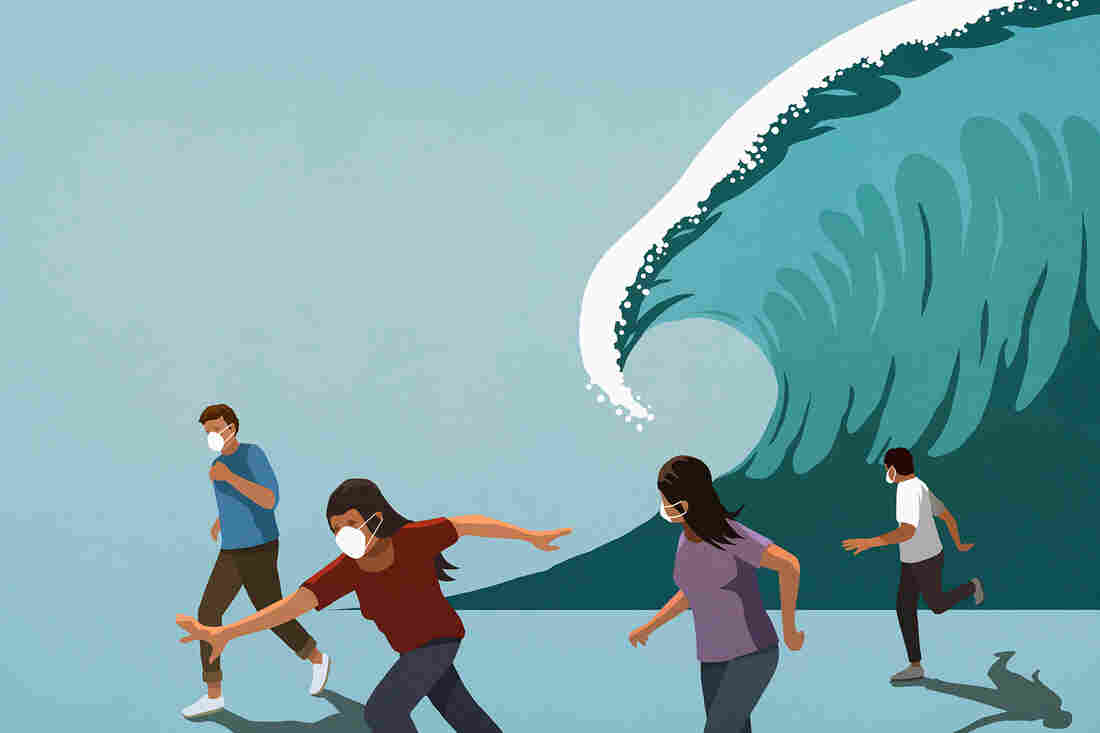 People who experience survivor's guilt often blame themselves as a way to feel a sense of control when they feel powerless following a catastrophic event.