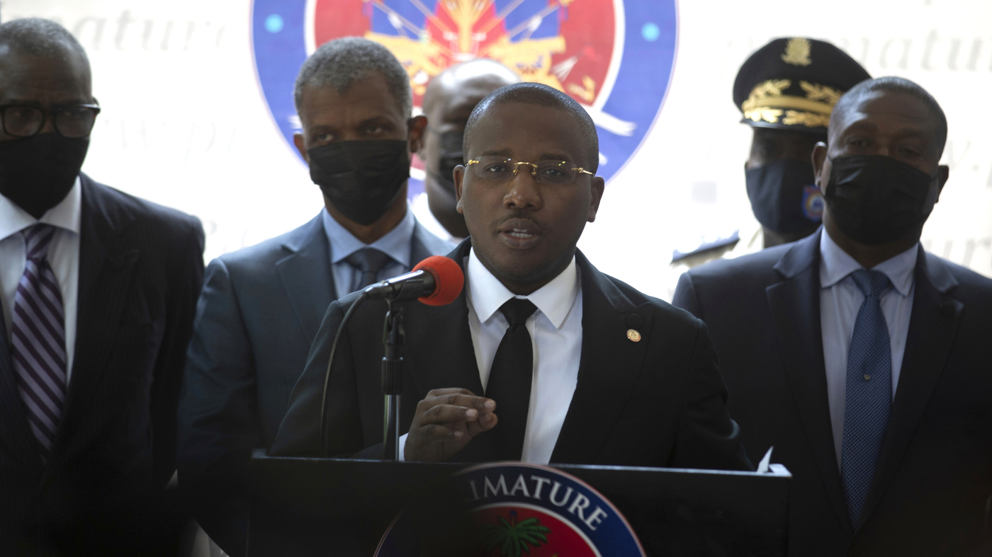 Martine Moïse, wife of the assassinated president, returns to Haiti: NPR
