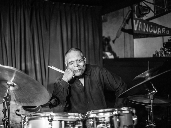 Drummer and educator Billy Hart, one of the NEA's 2022 Jazz Masters.