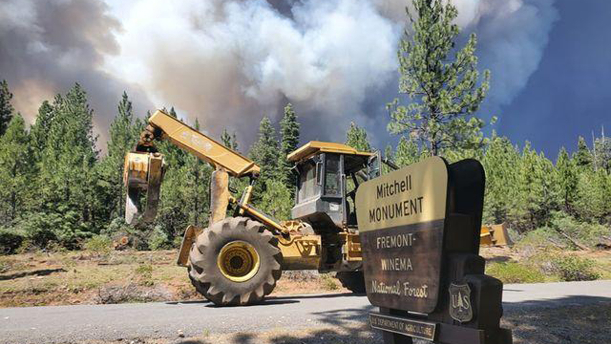 Monster Wildfire Shows The Benefits Of Years Of Forest Management Efforts: NPR
