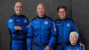 Jeff Bezos And Blue Origin Travel Deeper Into Space Than Richard Branson