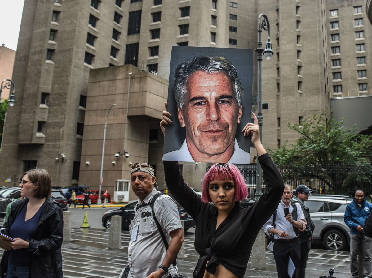 """Jeffrey Epstein victims speak out in """"perversion of justice"""": NPR"""