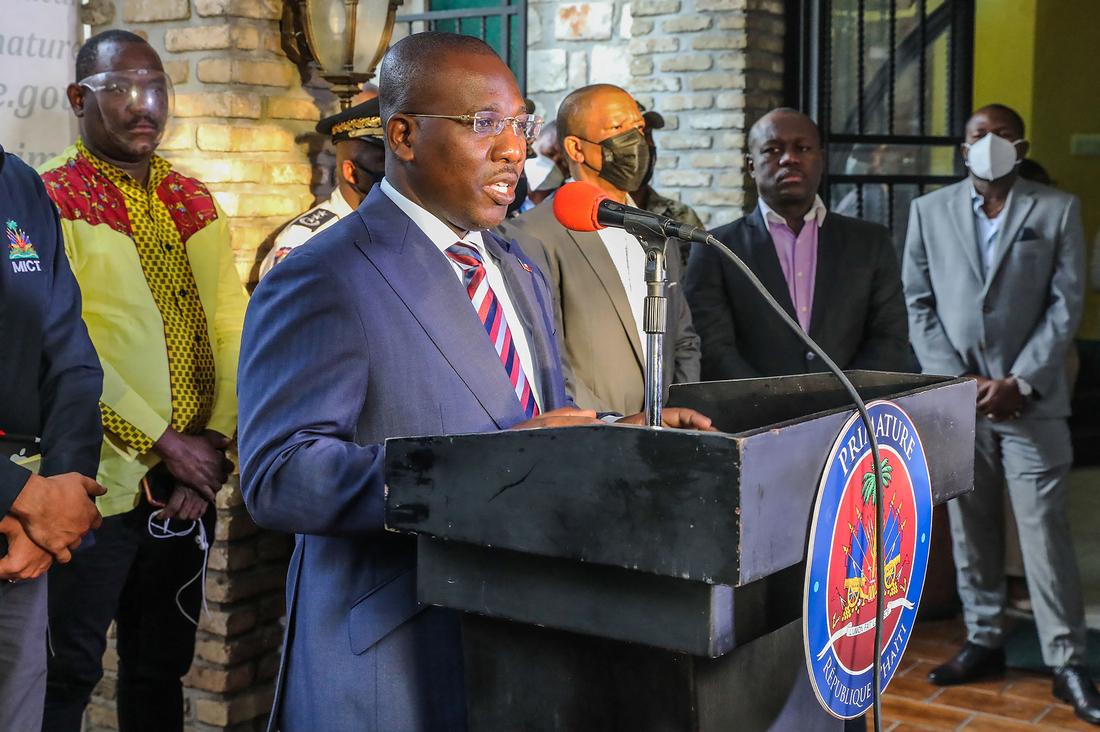 Ariel Henry sworn in as Haiti's new Prime Minister: NPR